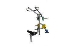 Вертикальная тяга Свободный вес MironFit RK-316
