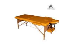 Массажный стол Dfc Nirvana, Relax, дерев. ножки, цвет горчичный (Mustard)