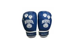 Перчатки боксерские VagroSport RING RS810, 10 унций, синий