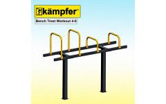 Скамья с упорами Воркаут Kampfer Bench Trest Workout 4-0