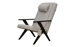 Массажное кресло-качалка EGO Bounty Грэй (Рогожка)