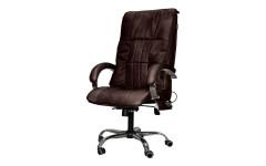 Офисное массажное кресло EGO BOSS EG1001 КОФЕ (Арпатек)